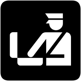 sign with customs agent