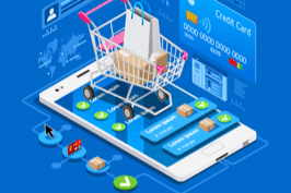 Mobile e-commerce shopping